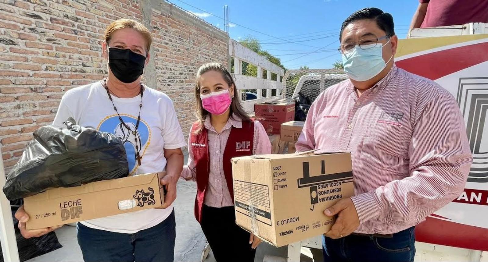 Atiende DIF Municipal a miles de familias sanluisinas durante tres años
