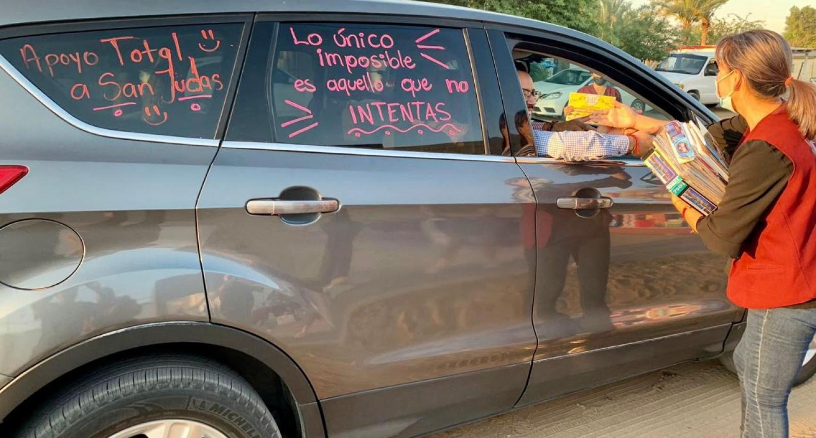 Un rotundo éxito caravana para ludoteca en DIF