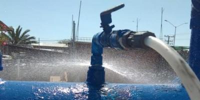 Apagones provocan turbiedad en el agua, Oomapas
