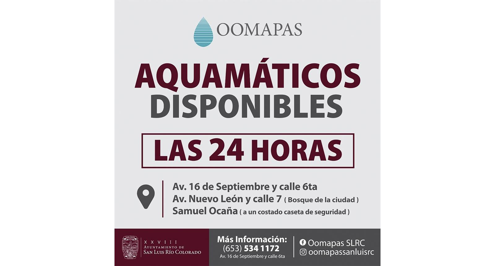 Aquamaticos Disponibles