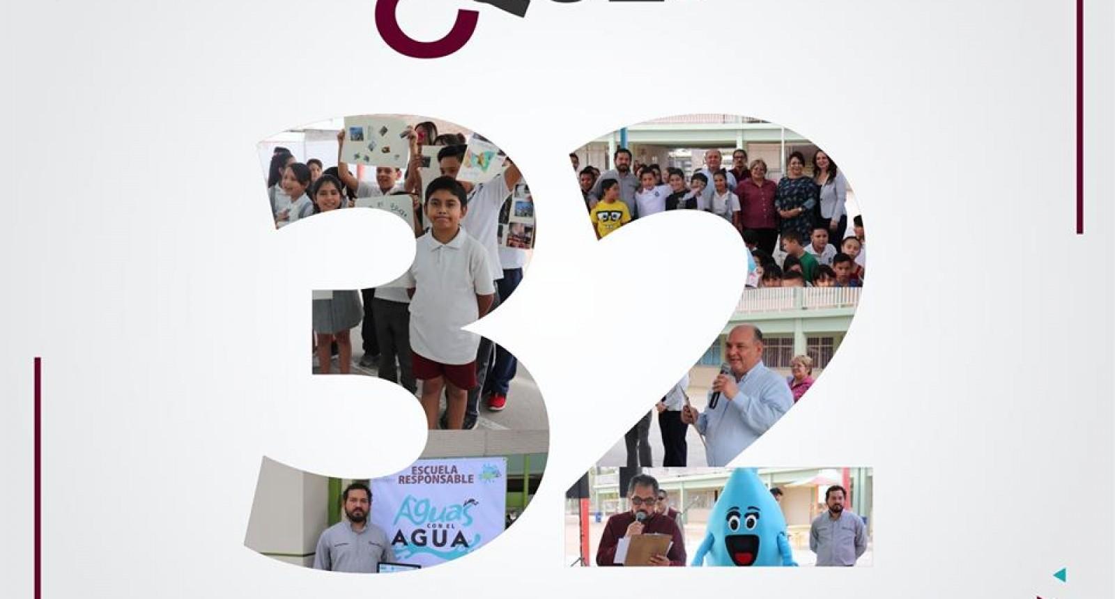 Escuelas fueron evaluadas con el programa Aguas con el Agua