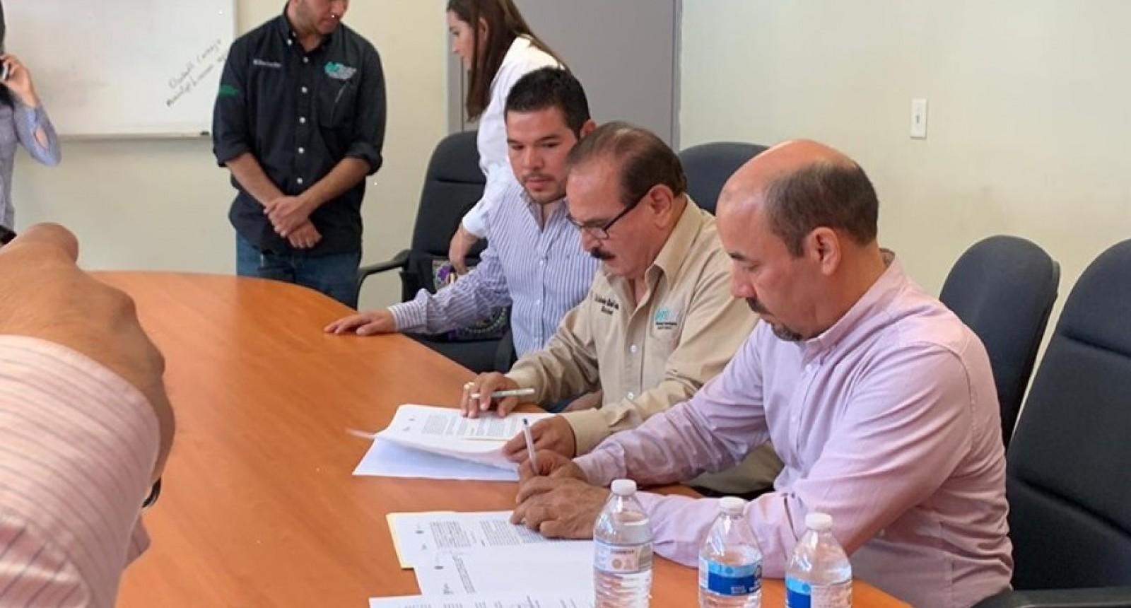 Firma OPRODE convenio de colaboración con UT SLRC.